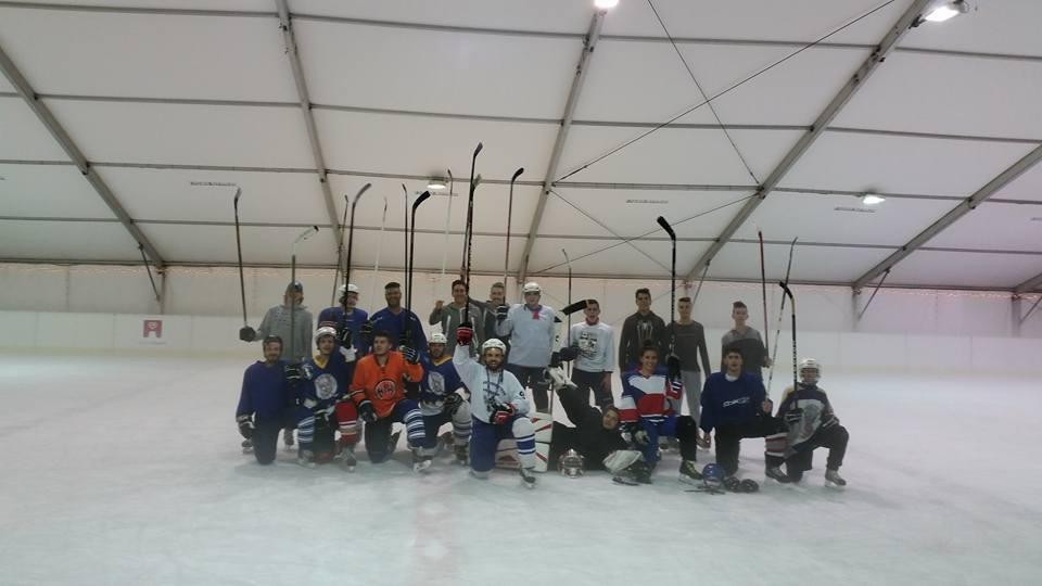 Οι προπονήσεις ice hockey ξεκίνησαν!