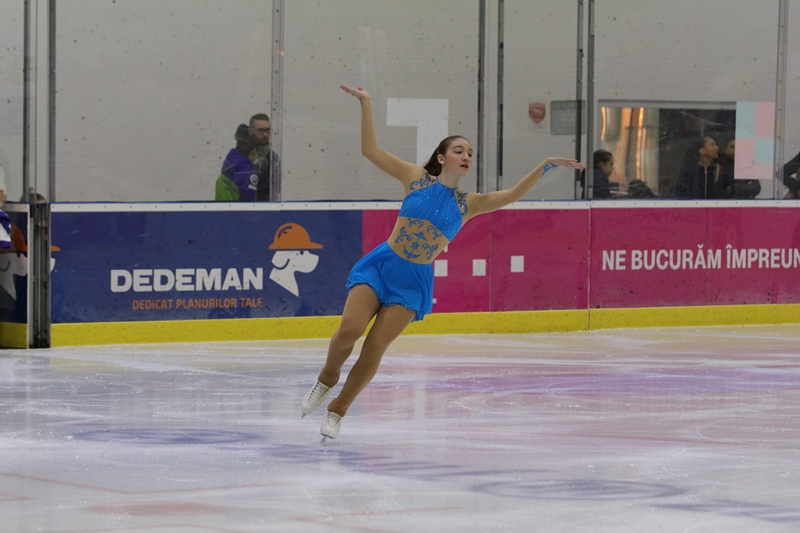 Συμμετοχή αθλητριών στον διεθνή αγώνα Crystal Skate 2018