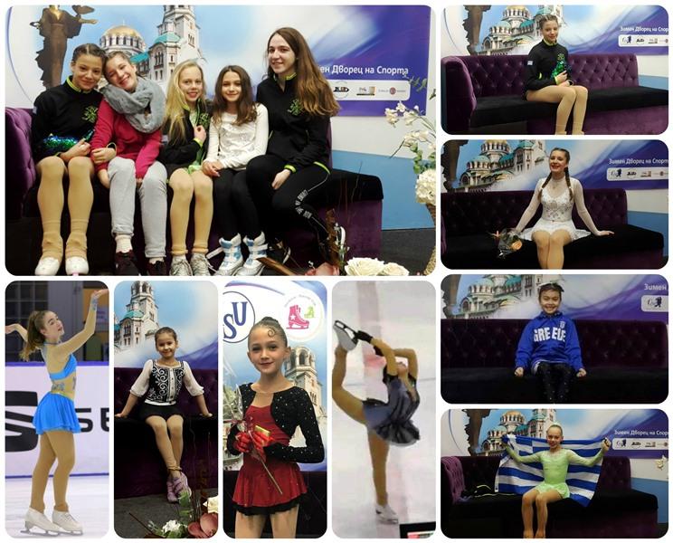 """Συμμετοχή αθλητριών στον διεθνή αγώνα """"Sofia Trophy 2019"""""""