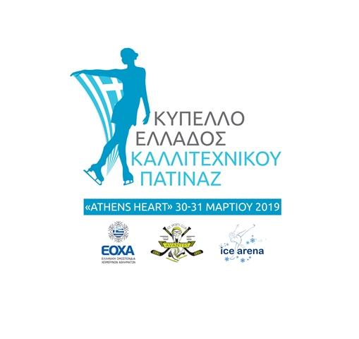 Πρόγραμμα Κυπέλλου Ελλάδος & Τεστ Καλλιτεχνικού Πατινάζ 2019