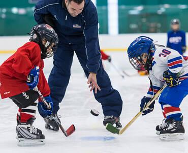 Προπονήσεις ice hockey νέων 2021/22